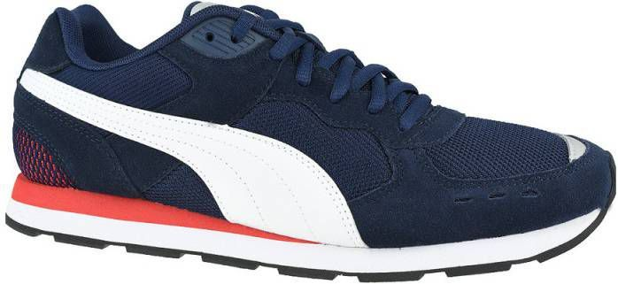 Puma Vista sneakers donkerblauw/wit/rood